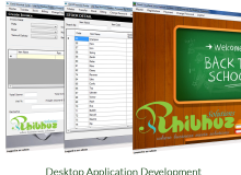 Desktop Application Development C#, VB, DOT NET, JAVA, PHP